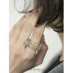 Кольцо Квадрат