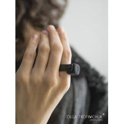 Кольцо кубик